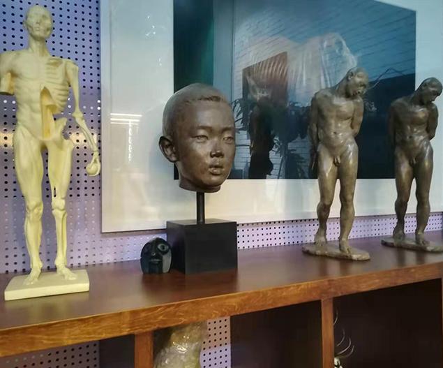 美术工艺品铸件加工室
