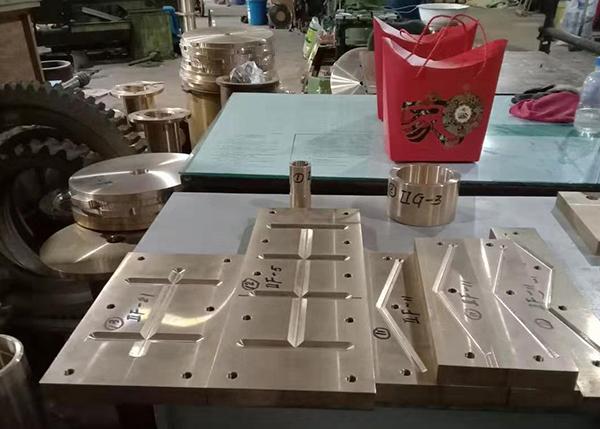 旋压设备铜滑板