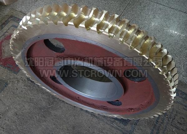 矿山机械用F84铜蜗轮