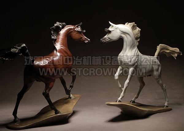 阿拉伯马工艺美术品铸件